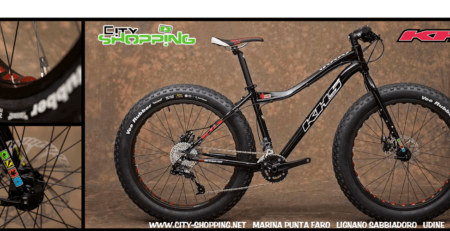 fat bike KHS 4season - cityshopping