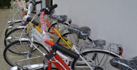 bicicletta personalizzata per hotel