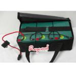 Batteria per monopattino elettrico completa di sacca e portafusibile 36 Volt 14 Ah