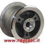 Cerchio anteriore 4″ alluminio